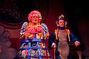 London, UK. 01/12/2011. Aladdin opens at the Lyric Hammersmith. Steven Webb as Wishy Washy and Shaun Prendergast as Widow Twankey. Photo credit: Jane Hobson