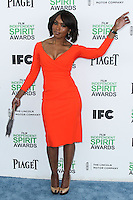 SANTA MONICA, CA, USA - MARCH 01: Angela Bassett at the 2014 Film Independent Spirit Awards held at Santa Monica Beach on March 1, 2014 in Santa Monica, California, United States. (Photo by Xavier Collin/Celebrity Monitor)