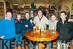 Ringing 2017: Ringing in the New Year at the Railway Bar, Ballybunion on New Year's Eve were Eamonn Edgesworth, Winnie O'Donoghue, Larry White, Joe  Edgesworth, Joe O'Donoghue & Billy Finnucane.