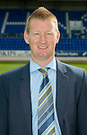 St Johnstone FC Season 2012-13 Photocall.Manager Steve Lomas.Picture by Graeme Hart..Copyright Perthshire Picture Agency.Tel: 01738 623350  Mobile: 07990 594431