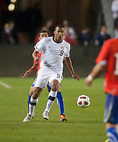 CARSON, CA – JANUARY 22: USA forward Teal Bunbury (9) during the international friendly match between USA and Chile at the Home Depot Center, January 22, 2011 in Carson, California. Final score USA 1, Chile 1.