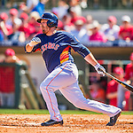 4 March 2016: Houston Astros infielder Tyler White in action during a Spring Training pre-season game against the St. Louis Cardinals at Osceola County Stadium in Kissimmee, Florida. The Astros defeated the Cardinals 6-3 in Grapefruit League play. Mandatory Credit: Ed Wolfstein Photo *** RAW (NEF) Image File Available ***