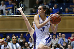 29 December 2015: Duke's Angela Salvadores (ESP). The Duke University Blue Devils hosted the Western Carolina University Catamounts at Cameron Indoor Stadium in Durham, North Carolina in a 2015-16 NCAA Division I Women's Basketball game.
