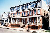 1990 February.Conservation.Berkley 3....Rehab after.516-520 Dinwiddie Street...NEG#.NRHA#..CONSERV: Berkley2 5:2