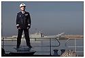 Porte h&eacute;licopt&egrave;res Jeanne d'Arc<br /> Ocean Atlantique<br /> Casablanca<br /> Capitaine de fr&eacute;gate Didier Nyffenegger.