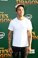 HOLLYWOOD, CA- AUGUST 8:  Pete Wentz at the Disney premiere of 'Pete's Dragon' at El Capitan Theater in Hollywood, California, on August 8, 2016. Credit: David Edwards/MediaPunch