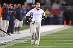 Auburn Head Coach Gene Chizik against Ole Miss at Vaught-Hemingway Stadium in Oxford, Miss. on Saturday, October 30, 2010. Auburn won 51-31.
