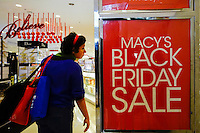 A Customer visits Macy's department store during Black Friday sales events in Jersey City, NJ.  11/27/2015. Eduardo MunozAlvarez/VIEWpress