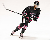Kelly Wallace (NU - 5) - The Northeastern University Huskies defeated the visiting Providence College Friars 8-7 on Sunday, January 20, 2013, at Matthews Arena in Boston, Massachusetts.