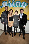 General Hospital Stars, Jason Thompson, Lisa LoCicero, Julie Marie Berman and Brandon Barash attend ABC Casino Night on October 27, 2011 at ..Guastavinos in New York City.