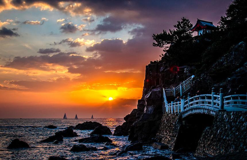 New tears day sunrise 2014 Katsurahama Kochi