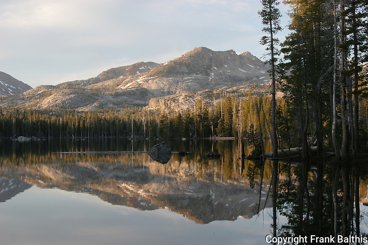 Wright's Lake in evening