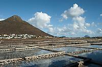 Mauritius. Salt Pans at Tamarin.