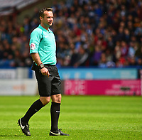 Referee Paul Tierney<br /> <br /> Photographer Andrew Vaughan/CameraSport<br /> <br /> The EFL Sky Bet Championship Play-Off Semi Final First Leg - Huddersfield Town v Sheffield Wednesday - Saturday 13th May 2017 - The John Smith's Stadium - Huddersfield<br /> <br /> World Copyright &copy; 2017 CameraSport. All rights reserved. 43 Linden Ave. Countesthorpe. Leicester. England. LE8 5PG - Tel: +44 (0) 116 277 4147 - admin@camerasport.com - www.camerasport.com