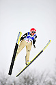 Ayumi Watase (JPN),.MARCH 3, 2012 - Ski Jumping : FIS Ski Jumping World Cup Ladies in Zao, Individual the 12th Competiiton HS100 at Jumping Hills Zao,Yamagata ,Japan. (Photo by Jun Tsukida/AFLO SPORT) [0003].