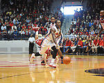 "Ole Miss' Derrick Millinghaus (3) vs. Arkansas at the C.M. ""Tad"" Smith Coliseum in Oxford, Miss. on Saturday, January 19, 2013. Mississippi won 76-64. (AP Photo/Oxford Eagle, Bruce Newman)"