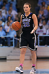 02 March 2014: Duke's Tricia Liston. The University of North Carolina Tar Heels played the Duke University Blue Devils in an NCAA Division I women's basketball game at Carmichael Arena in Chapel Hill, North Carolina. UNC won the game 64-60.