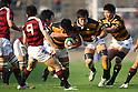 Shinjiro Fujimoto (Keio), November 23, 2011 - Rugby : Kanto Intercollegiate Rugby Games match between Waseda University 54-24 Keio University at Chichibunomiya Rugby Stadium, Tokyo, Japan. (Photo by Daiju Kitamura/AFLO SPORT) [1045]
