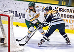 2 February 2013: University of Vermont Catamount forward Valerie Stoul, a Junior from Montville, NJ, in action against the University of New Hampshire Wildcats at Gutterson Fieldhouse in Burlington, Vermont. The Lady Wildcats defeated the Lady Catamounts 4-2 in Hockey East play. Mandatory Credit: Ed Wolfstein Photo