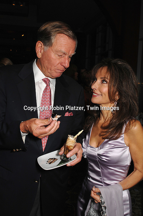 Helmet Huber and wifeSusan Lucci..at The Feast with Famous Faces 2007 Gala benefitting..The League for the Hard of Hearing on October 22, 2007 at Pier Sixty at Chelsea Piers. ..Robin Platzer, Twin Images