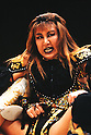 Akira Hokuto, DECEMBER 4, 1995 - Pro- Wrestling : Akira Hokuto is senn during the All Japan Women's Pro-Wrestling in Japan. (Photo by Yukio Hiraku/AFLO)