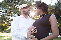 Lauren and Dahled's Oakland Maternity Session