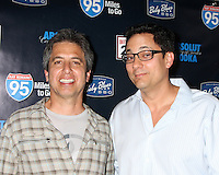 "LOS ANGELES - MAY 31:  Ray Romano, Tom Caltabiano celebrating the DVD release of ""95 Miles to Go"" at Baby Blues BBQ Resturant on May 31, 2012 in Hollywood, CA"