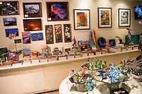 The gift shop at Hawai'i Tropical Botanical Garden in Onomea (near Hilo) on the Big Island of Hawai'i.