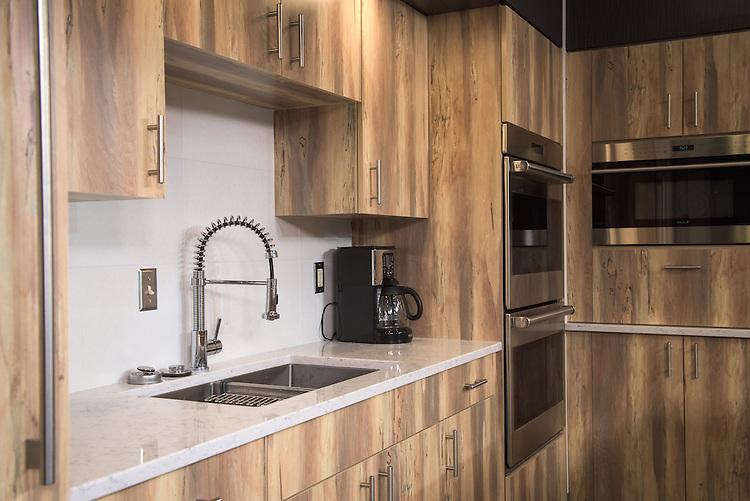 Jefferson Hall's new demonstration kitchen on February 1, 2017.