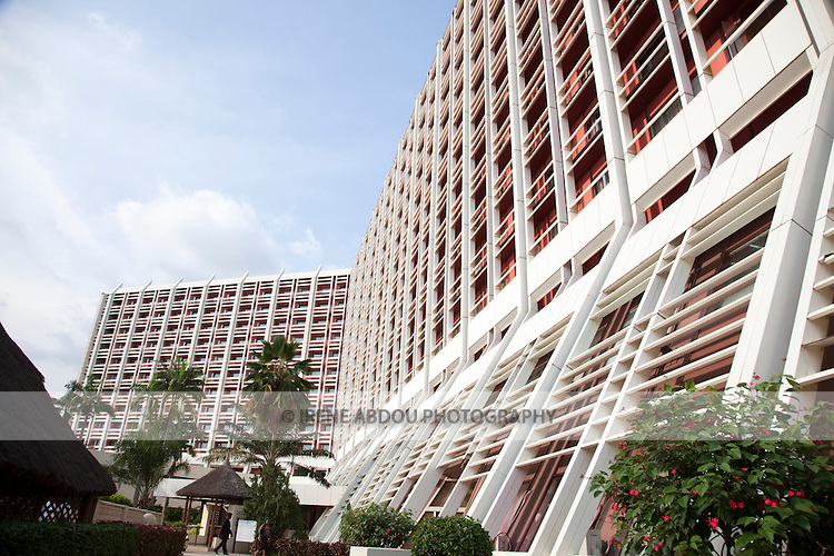 The Transcorp Hilton Hotel in Nigeria's capital city of Abuja is the city's best hotel.