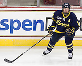 Karl Stollery (Merrimack - 7) - The Boston College Eagles defeated the visiting Merrimack College Warriors 3-2 on Friday, October 29, 2010, at Conte Forum in Chestnut Hill, Massachusetts.