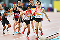 (L to R) Kei Takase (JPN), Yuzo Kanemaru (JPN), .MAY 6, 2012 - Athletics : .SEIKO Golden Grand Prix in Kawasaki, Men's 4400m Relay .at Kawasaki Todoroki Stadium, Kanagawa, Japan. .(Photo by Daiju Kitamura/AFLO SPORT)