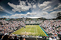 AMBIENCE<br /> <br /> The Championships Wimbledon 2014 - The All England Lawn Tennis Club -  London - UK -  ATP - ITF - WTA-2014  - Grand Slam - Great Britain -  25th June 2014. <br /> <br /> &copy; AMN IMAGES