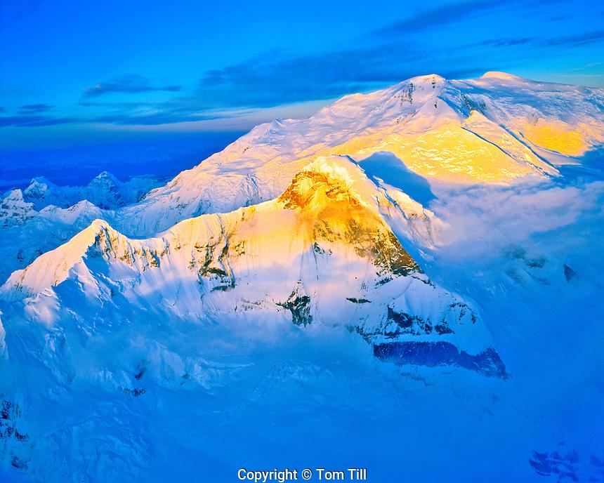Peaks of the Wrangell Mountains, Wrangell - St. Elias National Park and Preserve, Alaska