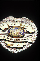 Los Angeles Police Officer Badge