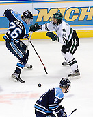 Teddy Purcell (University of Maine - St. John's, NL), Mike Ratchuk (Michigan State - Buffalo, NY) - The Michigan State Spartans defeated the University of Maine Black Bears 4-2 in their 2007 Frozen Four semi-final on Thursday, April 5, 2007, at the Scottrade Center in St. Louis, Missouri.