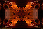 Fractal X, Fractal Composite, Upper Antelope Canyon, Tse-Bighanilini, Slot Canyon, Lake Powell Navajo Tribal Park, Page, Arizona