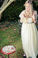 Alice in Wonderland theme styled wedding photography, Brighton.