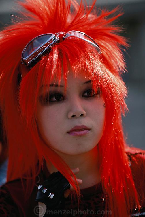 how to get bright orange hair