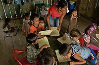 Indigenous Pre-school - Comunidad Indigena de Naranjales - Amazonas - Colombia