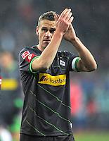 FUSSBALL   1. BUNDESLIGA  SAISON 2011/2012   16. Spieltag FC Augsburg - Borussia Moenchengladbach            10.12.2011 Filip Daems (Borussia Moenchengladbach)