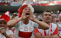 Fussball EURO 2012: Polen - Griechenland