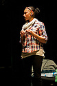 """18/05/2011.  """"Mad Blud"""" opens at Theatre Royal Stratford East. A new work exploring the reality behind the headlines of knife crime. Picture shows Joanne Sandi. Photo credit should read Jane Hobson"""