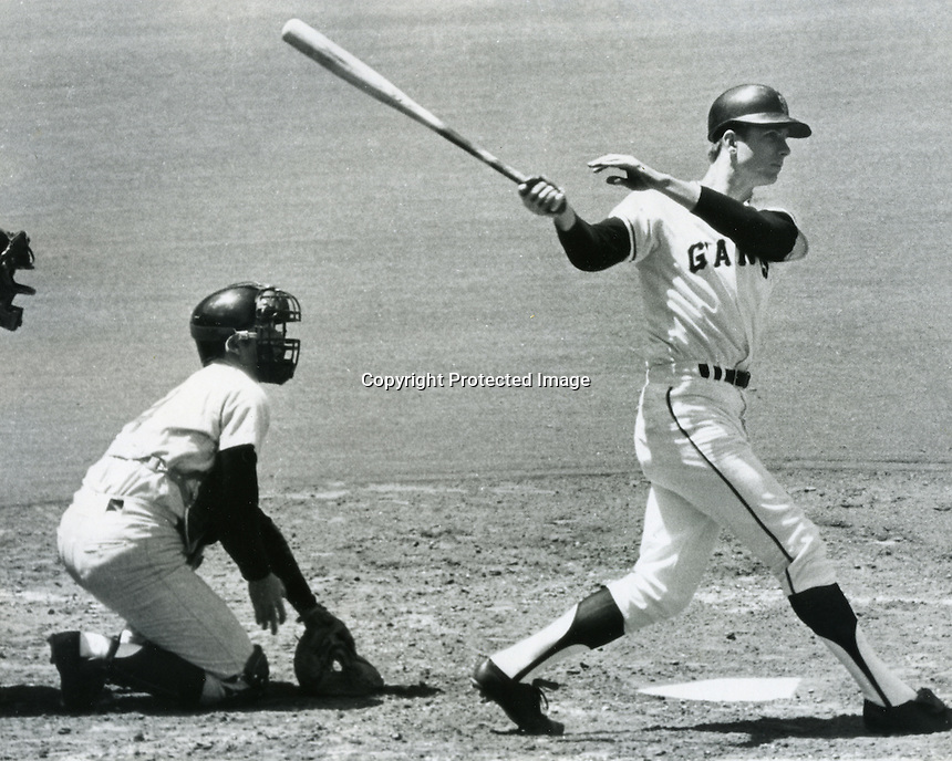 San Francisco Giants outfielder Ken Henderson.<br />
