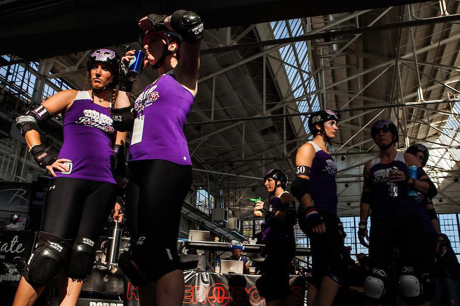 WFTDA 2012 Roller Derby Sun Delay