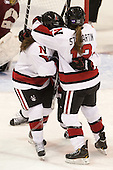 - The Northeastern University Huskies defeated Boston College Eagles 4-3 to repeat as Beanpot champions on Tuesday, February 12, 2013, at Matthews Arena in Boston, Massachusetts.
