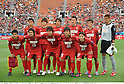 Kashima Antlers team group line-up, MAY 3rd, 2011 - Football : Kashima Antlers team group shot (Top row - L to R) Takeshi Aoki, Yuya Osako, Koji Nakata, Daiki Iwamasa, Takuya Nozawa, Hitoshi Sogahata, (Bottom row - L to R) Mitsuo Ogasawara, Shinzo Koroki, Toru Araiba, Yasushi Endo and Daigo Nishi before the AFC Champions League Group H match between Kashima Antlers 2-0 Shanghai Shenhua at National Stadium in Tokyo, Japan. (Photo by Takamoto Tokuhara/AFLO).