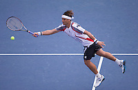 David Ferrer..Tennis - US Open - Grand Slam -  New York 2012 -  Flushing Meadows - New York - USA - Tuesday 4th September  2012. .© AMN Images, 30, Cleveland Street, London, W1T 4JD.Tel - +44 20 7907 6387.mfrey@advantagemedianet.com.www.amnimages.photoshelter.com.www.advantagemedianet.com.www.tennishead.net