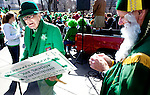 The 13th Annual St. Patrick's Day Parade was held on the Capitol Square in Madison, WI Sunday March 14, 2010.