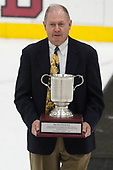 Ben Smith - The Harvard University Crimson tied the visiting Yale University Bulldogs 1-1 on Saturday, January 21, 2017, at the Bright-Landry Hockey Center in Boston, Massachusetts.